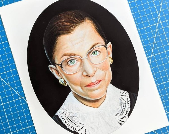 RBG Tribute Art Print