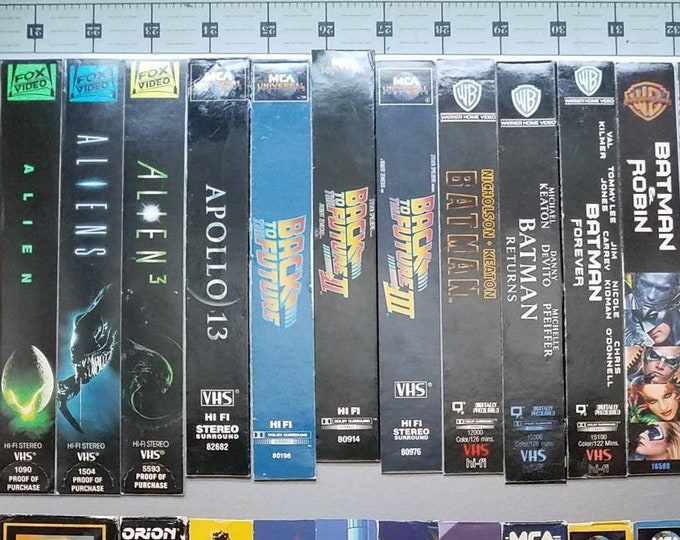 VHS Cover Magnets (Sides)