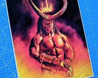 Hellboy 2019 Art Print