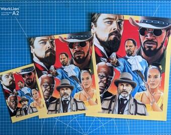 Django Unchained Art Print