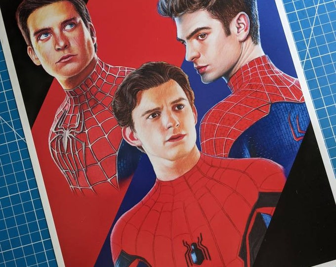 Featured listing image: Spider-Man Art Print
