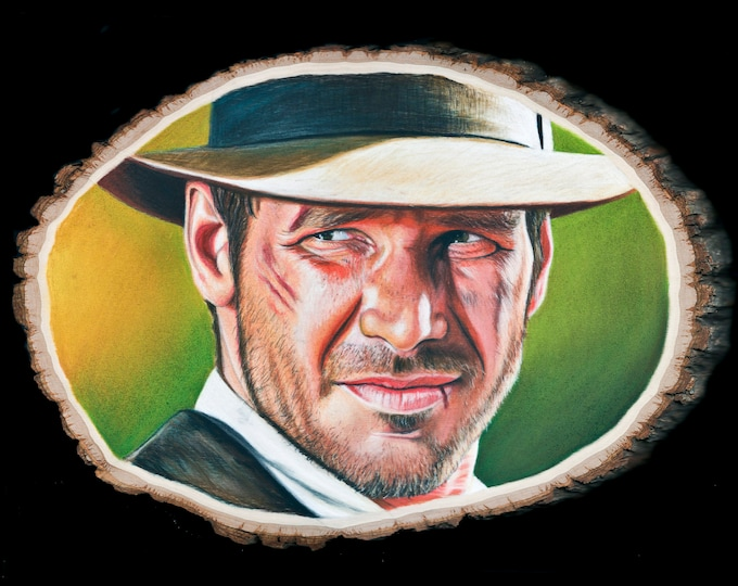 Indiana Jones Fine Art Print
