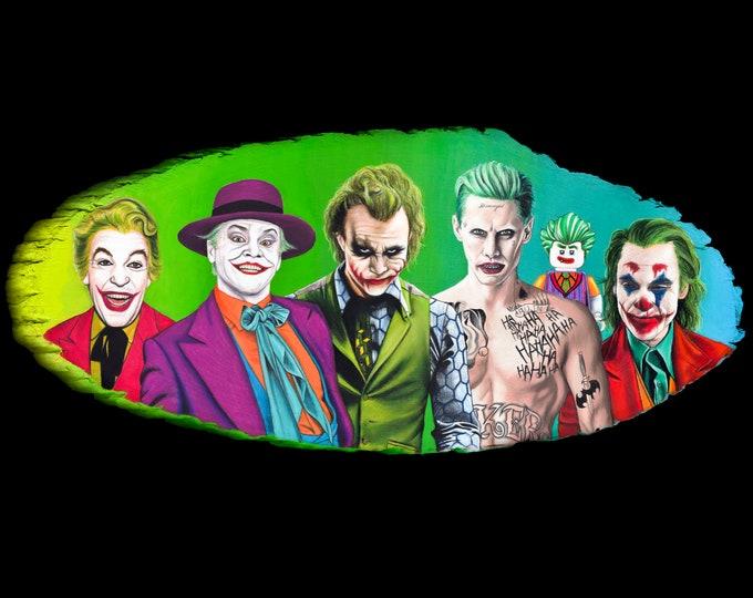 Jokers Fine Art Print