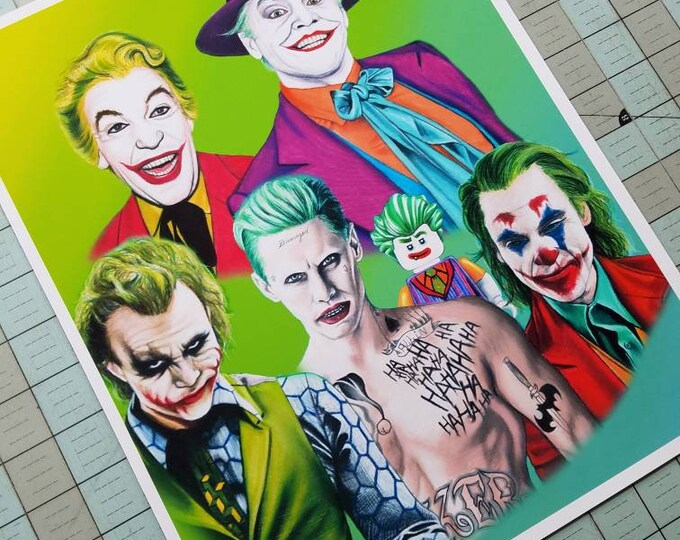 Jokers Art Print