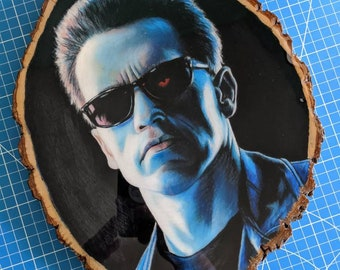 T2 Drawing on Wood