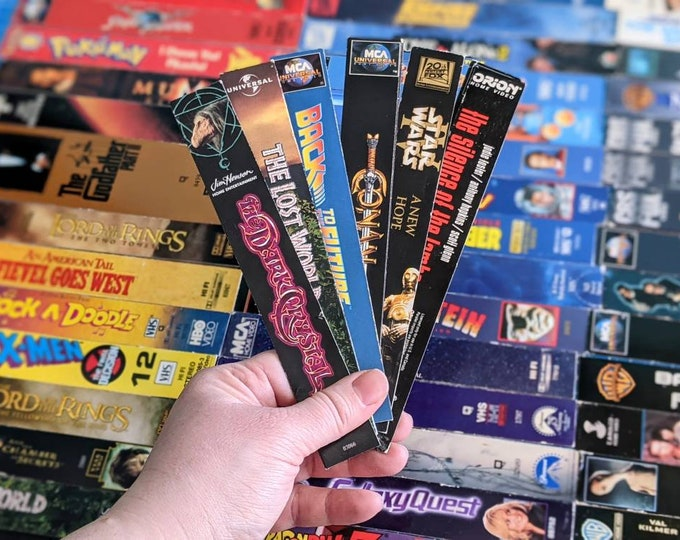 Featured listing image: VHS Magnets (Side Covers A-L)