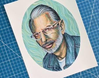 Jeff Van Goldblum Art Print