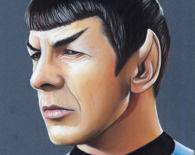 Star Trek Original Pastel Drawings