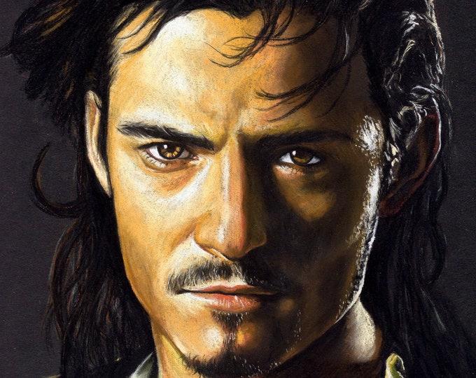Will Turner Original Pastel Drawing