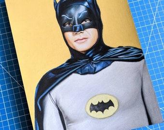 Adam West Batman Drawing