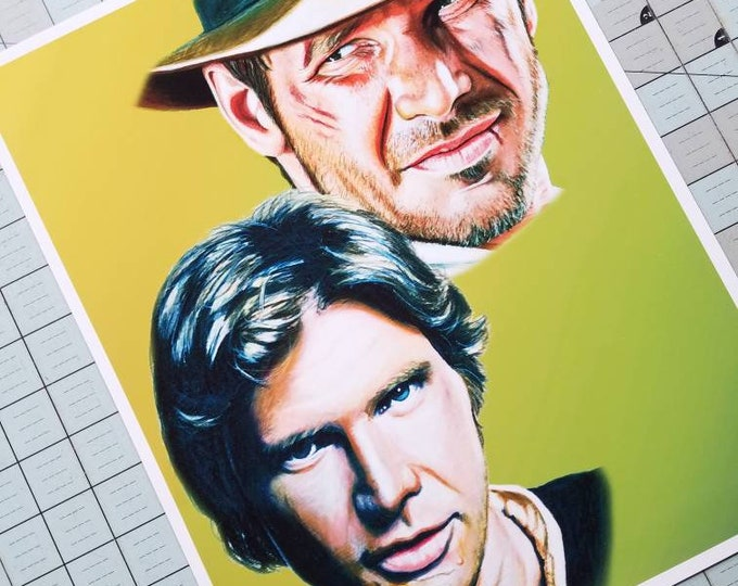 Harrison Ford Art Print
