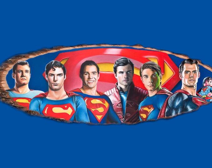 Superman Fine Art Print