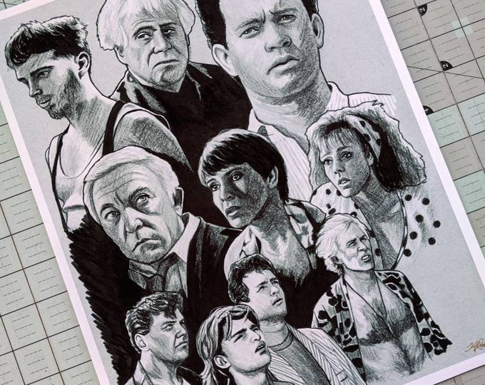 The Burbs Art Print