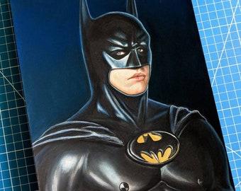 Val Kilmer Batman Drawing
