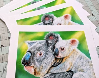 Limited Edition Koala Art Print (50% of Proceeds Donated to Australia Zoo Wildlife Warriors)