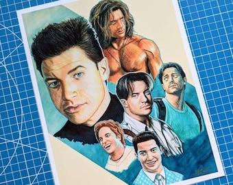 Actor Series Prints
