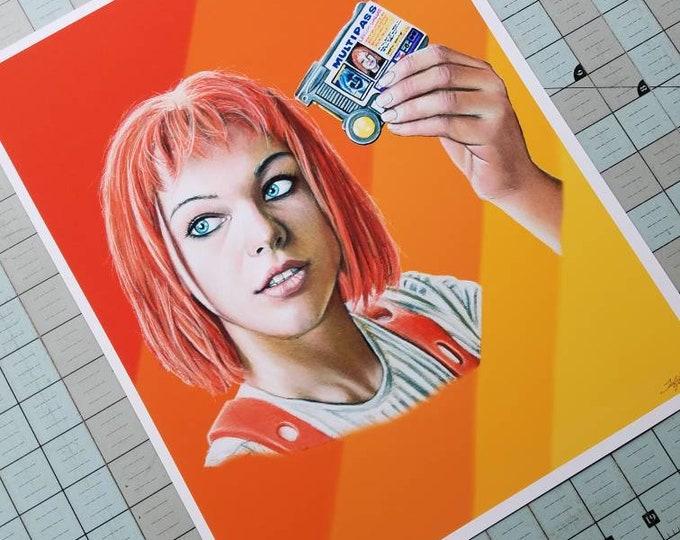 Leeloo Fine Art Print