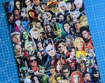Movie Characters Art Print