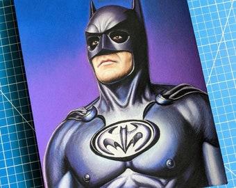 George Clooney Batman Drawing