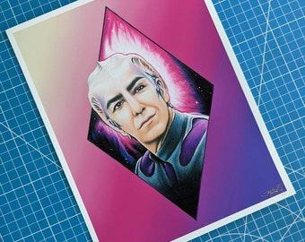 Dr. Lazarus Art Print
