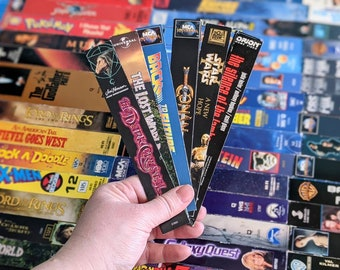 VHS Magnets (Side Covers A-L)