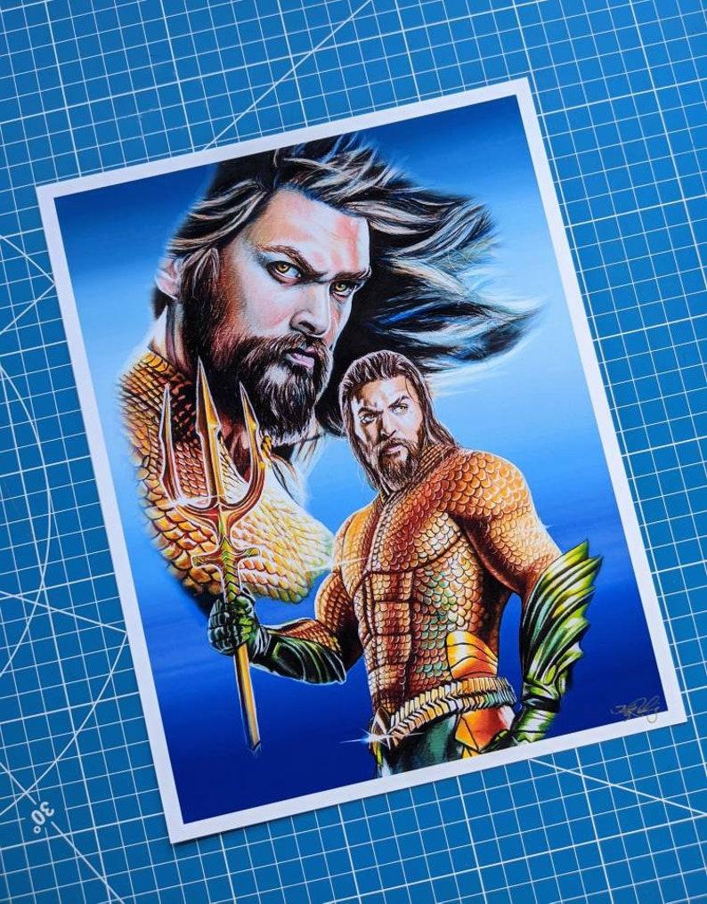 Aquaman Art Print image 0