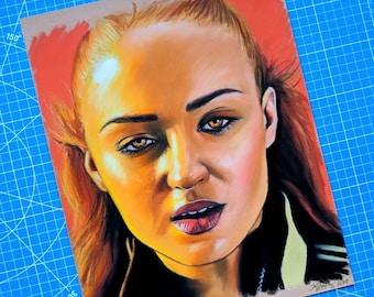 Jean Grey Dark Phoenix Drawing
