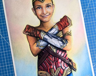 Krishna Art Print (50% of Proceeds Donated to Fighting All Monsters in Honor of Krishy's Gifts)