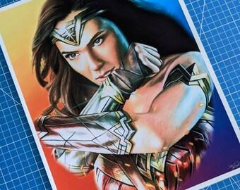Wonder Woman Art Print