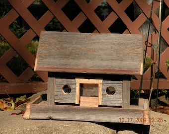 Barn Bird Feeder 9 - 10 Inches Long