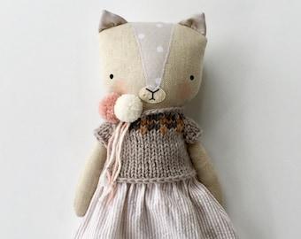 luckyjuju kitten doll - girl
