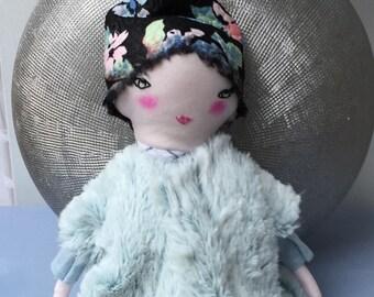 Handmade Ragdoll  - Nursery Decor Girls - Handmade Ragdoll - Baby Shower Girls - Handmade Doll