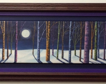 Framed Limited Edition Canvas Print - Moonlit Serenity - by Jodi Myers