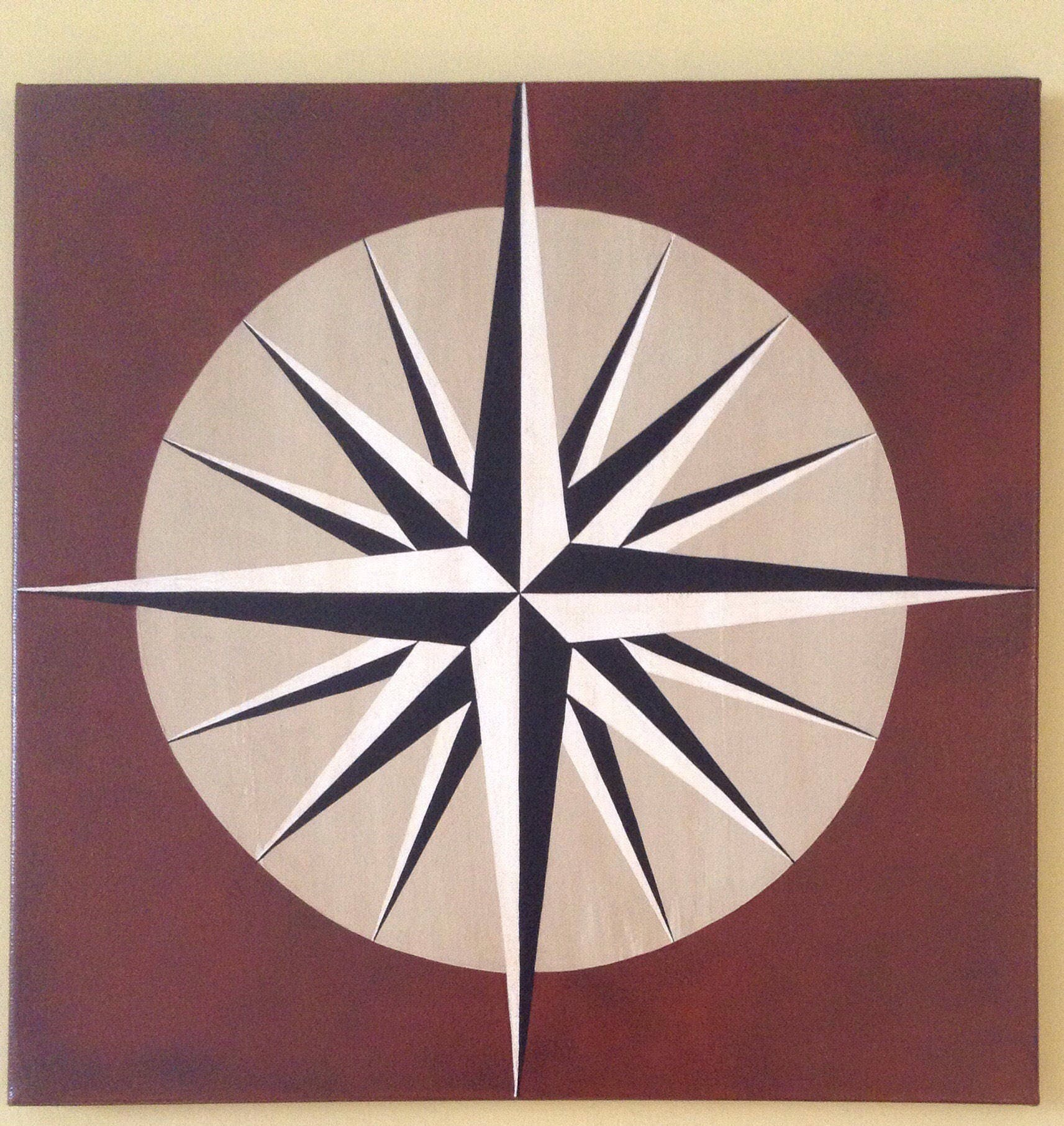 Original 20 Square Acrylic Painting On 3 4 Stretched Canvas