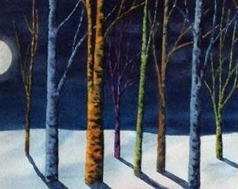 """Limited Edition Giclée Print - """"Moonlit Serenity"""" - by Jodi Myers - Signed & Numbered"""