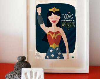 All the women are wonder