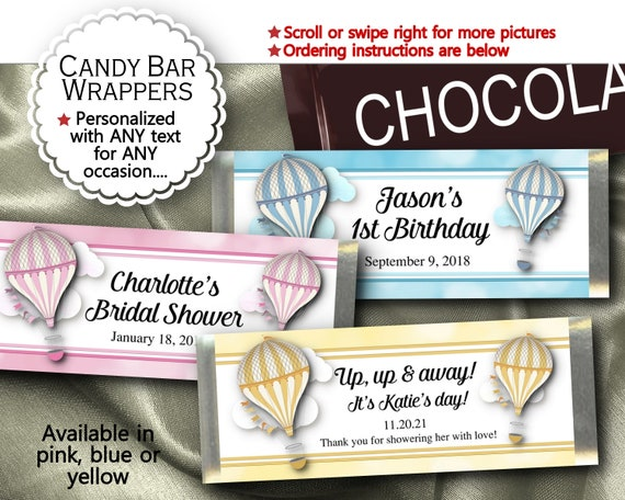 INSTANT DOWNLOAD at Checkout candy wrappers for mini Hershey bars,wedding treats,engagement party All My Love mini candy bar wrappers