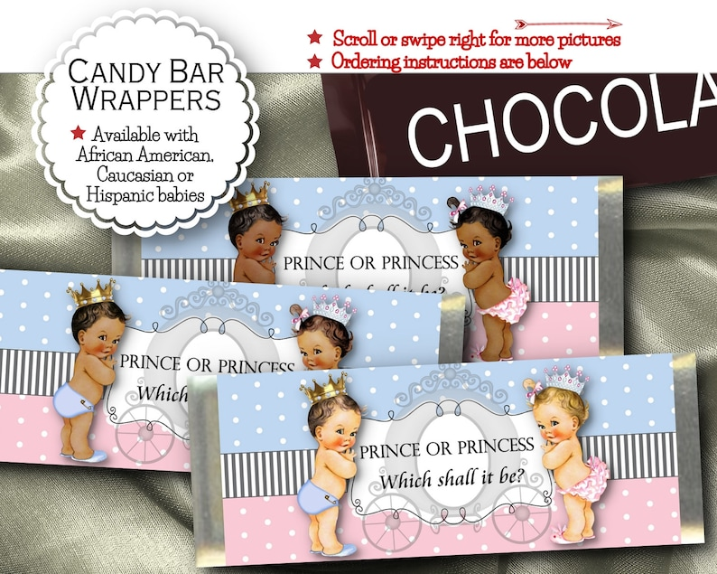 1ST BIRTHDAY GIRL  CHOCOLATE WRAPPERS X16