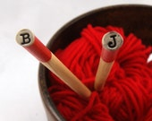 Sticks - Personalized Knitting Needles US 11 - 8mm - Made to Order
