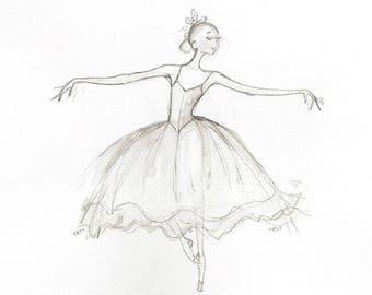 Chasse Ballet Diagram