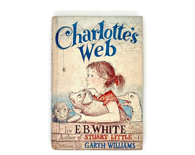 Vintage Copy of Charlotte's Web by EB White