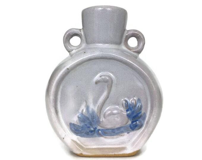 Vintage Swan Pottery Bud Vase