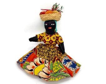 Vintage Primitive Caribbean Doll