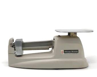 Vintage Pitney Bowes Stamp Postage Postal Meter Scale // Vintage Office Desk Supply Supplies