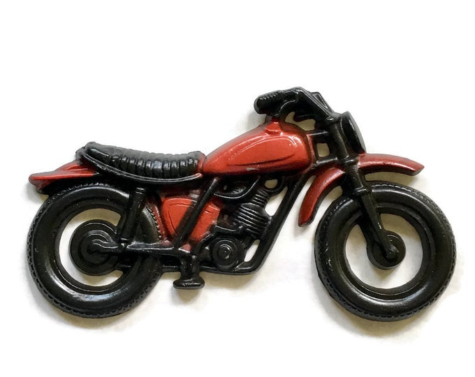 Vintage Motorcycle Bike for the Wall