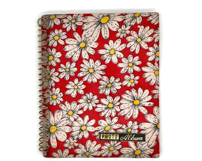 Vintage Daisy Photo Album