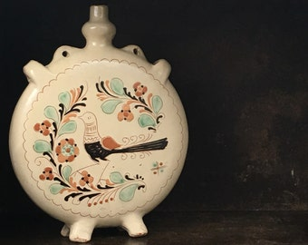 Vintage Hungarian Pottery Ceramic Vessel