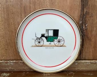 Vintage Hyalyn Automobile Car Collectible Porcelain