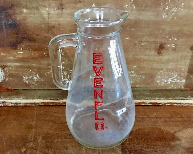 Vintage Evenflo Glass Baby Formula Pitcher