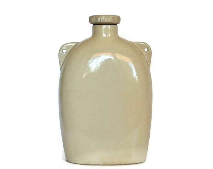 Vintage Stoneware Water Bottle